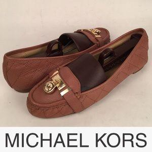 MICHAEL Michael Kors Brown Hamilton Loafer